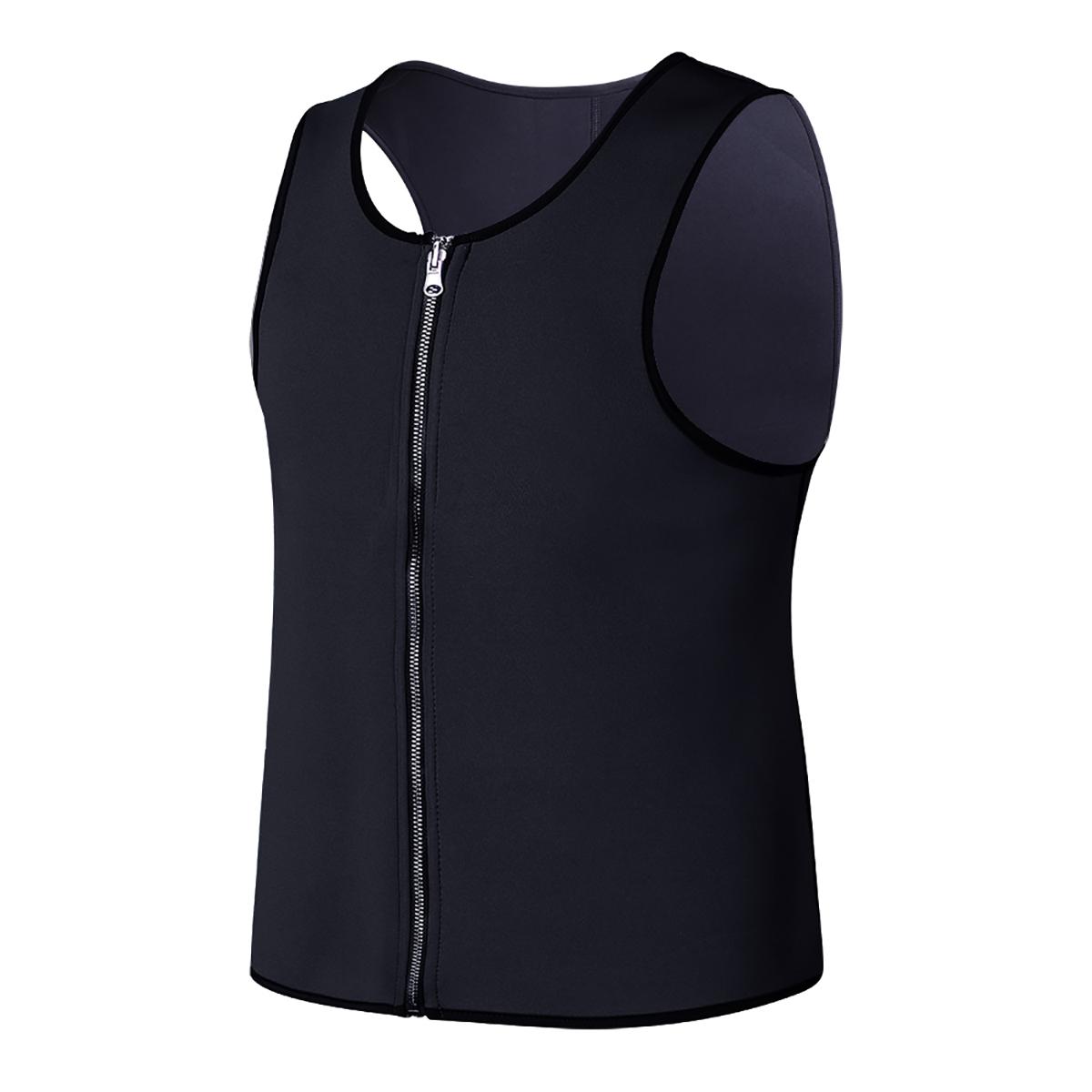 Пот Сауна Body Shaper Men Vest Thermo Неопреновый тренажер для похудения Пояс для похудения Ремень Спортивный костюм Up Grade