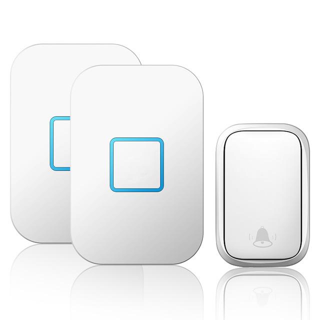 Домашний беспроводной автономный дверной звонок с автономным питанием № Батарея Требуется кнопка Приемник От 1 до 2 150M Дистанционный Sm