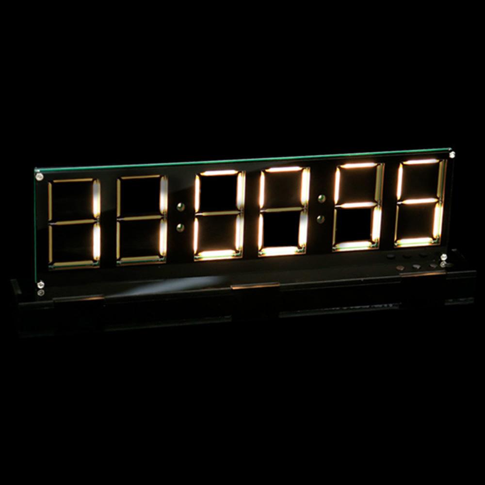 Мм 5V Светодиодный Нить накаливания Часы Электронная цифровая плата Ds1302 DIY Набор Время Дисплей