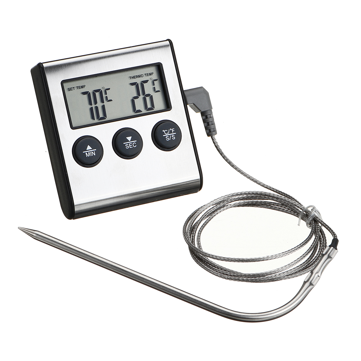 Термометр Кухня Приготовление пищи Мясо Барбекю Зонд Термометр Приготовление пищи Набор