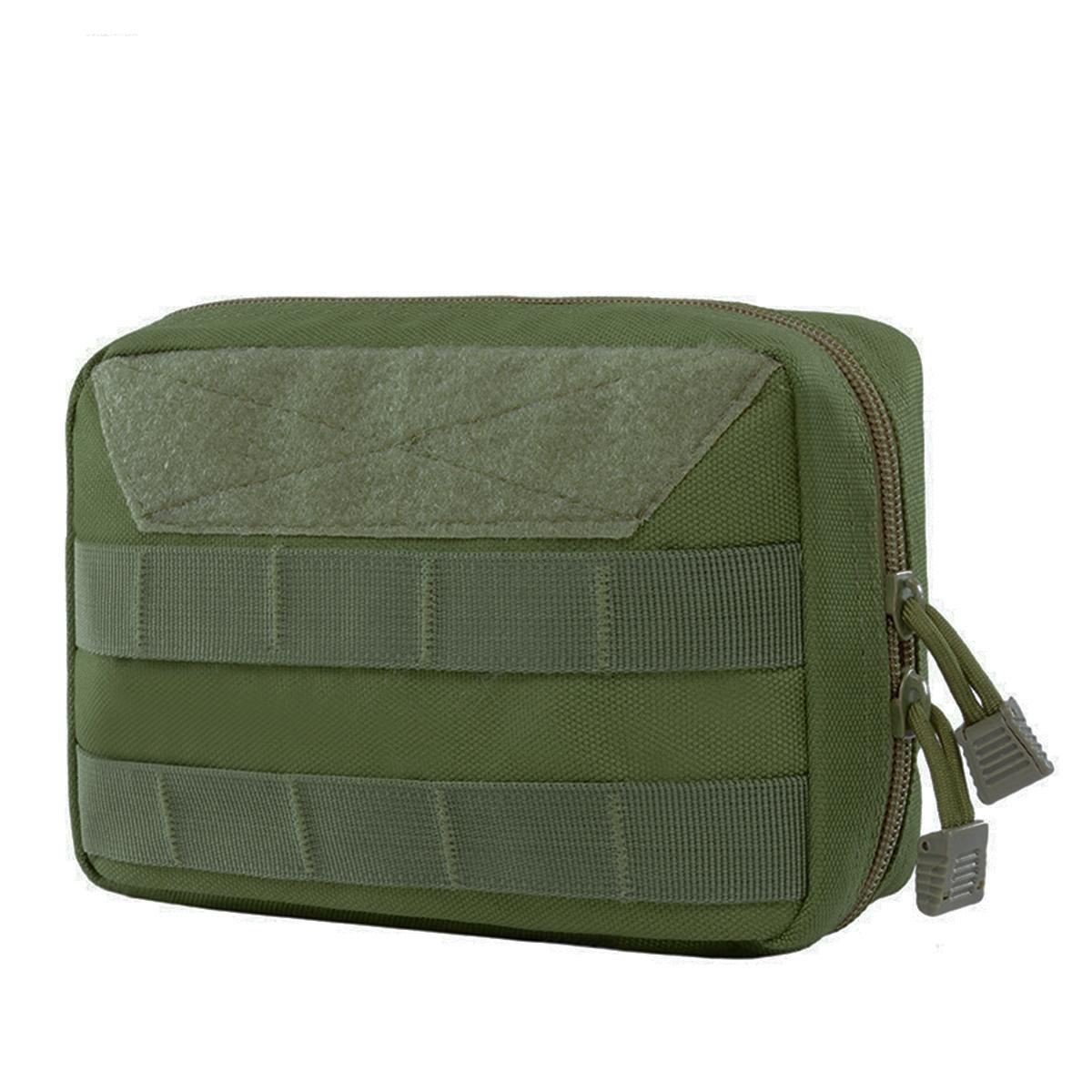 Наружная многофункциональная спортивная сумка MOLLE Fanny Pack Travel First Aid Медицинская Набор Тактическая экипировка Fanny Pack Съемный модуль Pack Талия