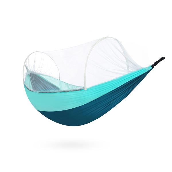 На открытом воздухе Одноместный Кемпинг Гамак Антимоскитная сетка Подвесная качели Кровать Макс. Нагрузка 300 кг от xiaomi youpin