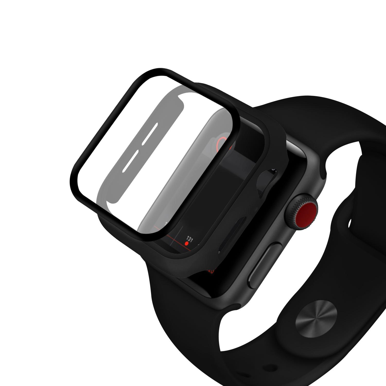 Чехол для часов + Закаленное стекло Защитная пленка для часов для Apple Watch Series 5 44mm / Apple Watch Series 4 44mm