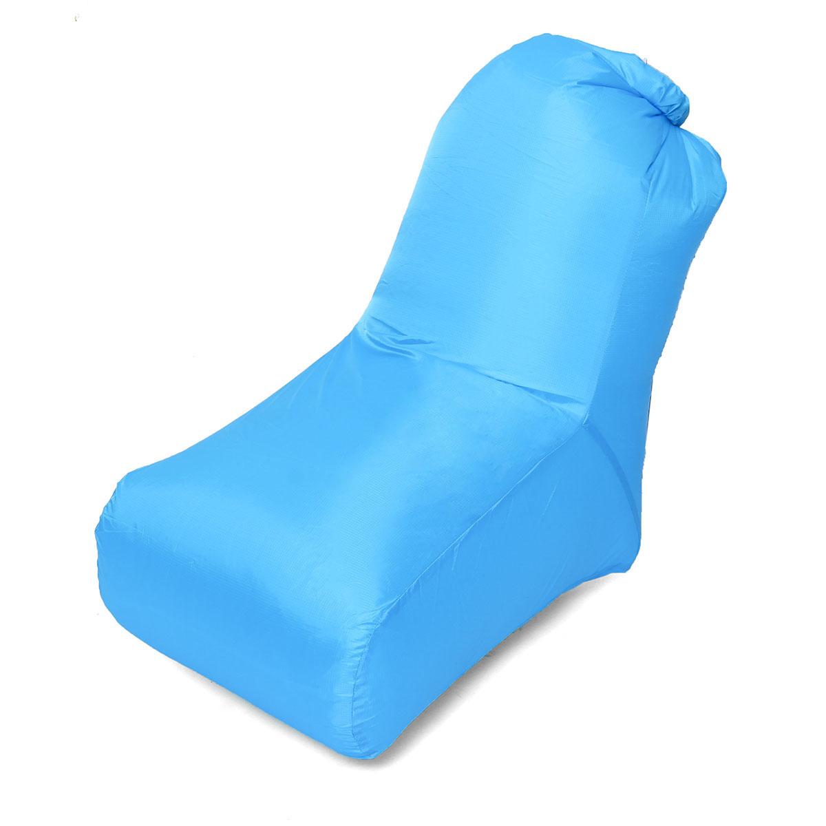 Надувной ленивый диван на 85x75 см, раскладной диван-кровать Пляжный Кресло Макс. Нагрузка 150 кг На открытом воздухе Кемпинг