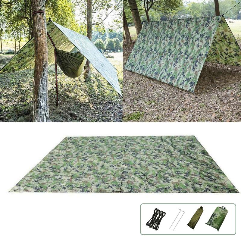 Сверхлегкий Кемпинг Пляжный Тент для палатки На открытом воздухе Брезент для укрытия 100x145см / 230x140см