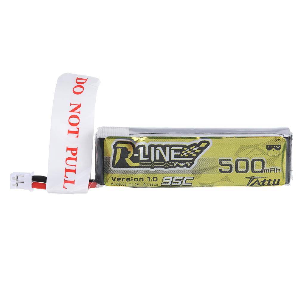 В 500 мАч 95C 1S Lipo Батарея PH2.0 Разъем для мультиротора от 100 до 180 мм FPV Дрон