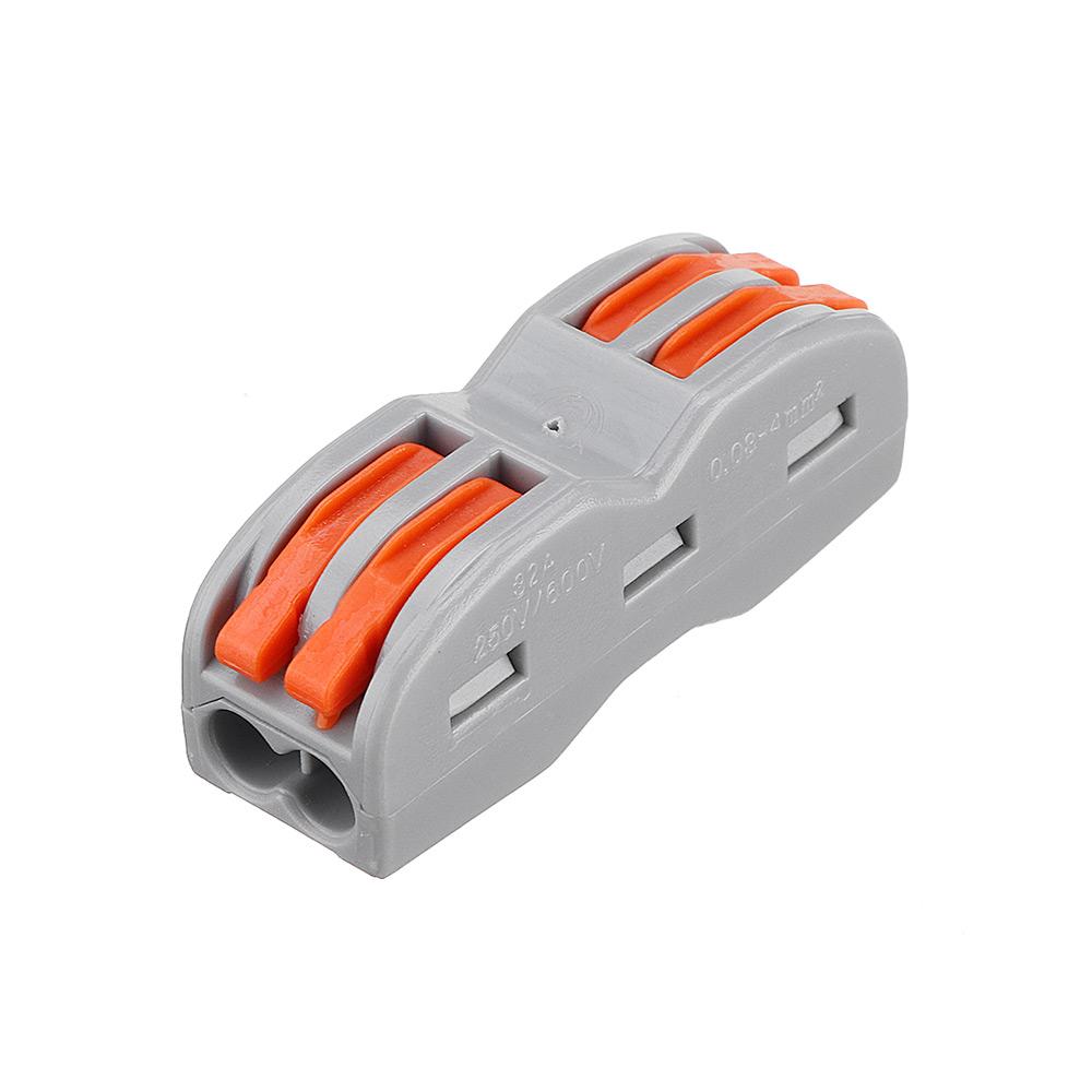 Шт. 2Pin Провод Стыковка Коннектор Клеммный блок Универсальный электрический кабель Провод Коннектор Клемма, Стыковое соединение К