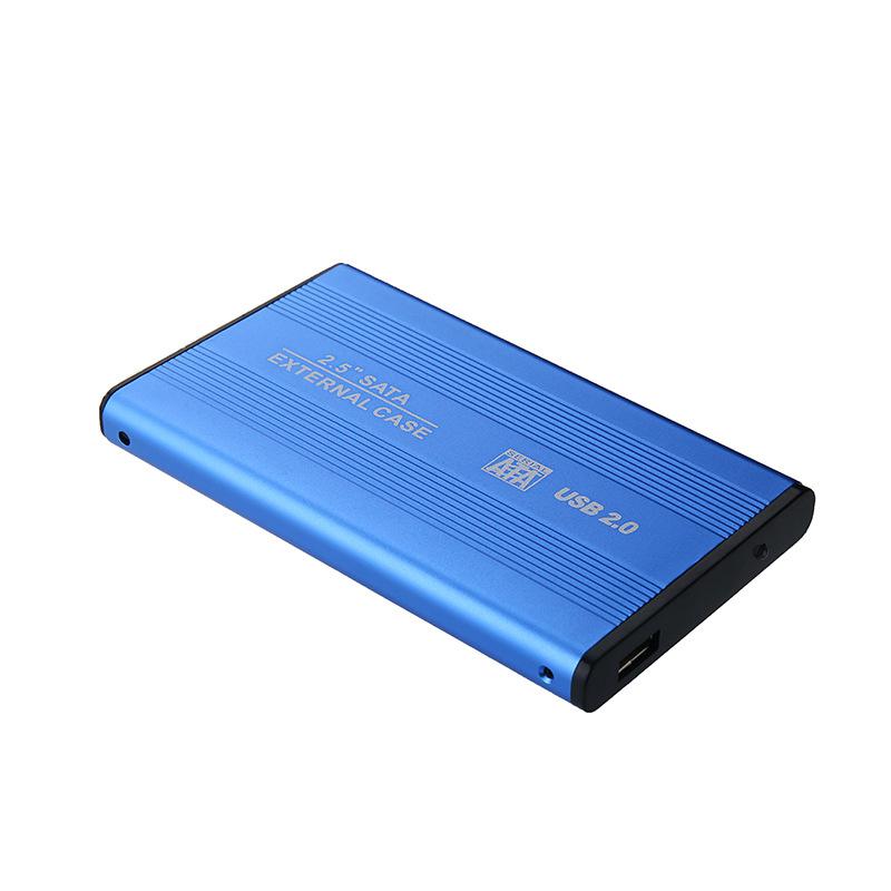 Дюймовый жесткий диск SSD SATA to USB 2.0 твердотельный накопитель Чехол Жесткий диск Корпус диска для Windows