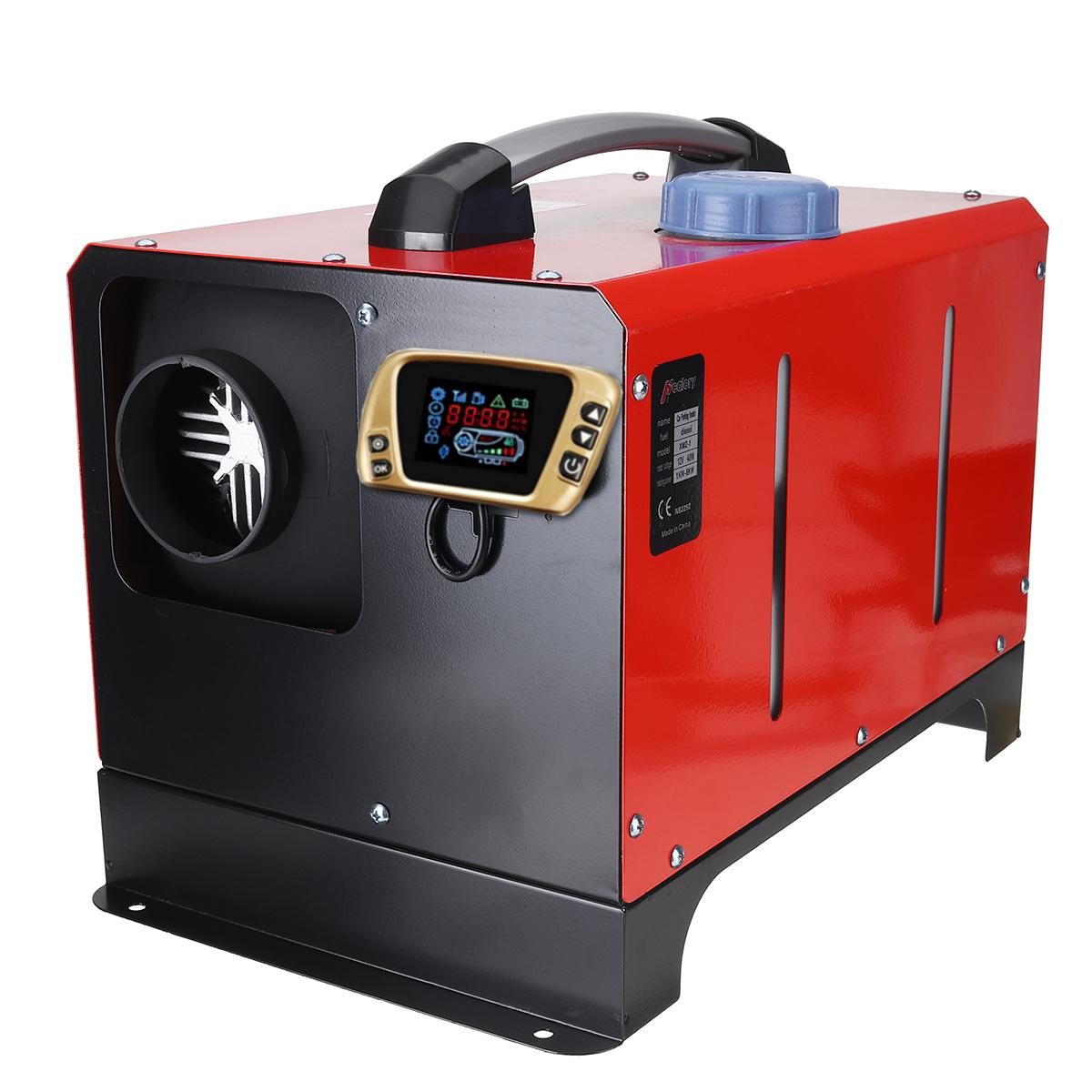 Все в One Единица 8KW 12V Авто Отопление Инструмент Дизель Air Нагреватель Золото с одним отверстием LCD Монитор Парковочный обогреватель для гру
