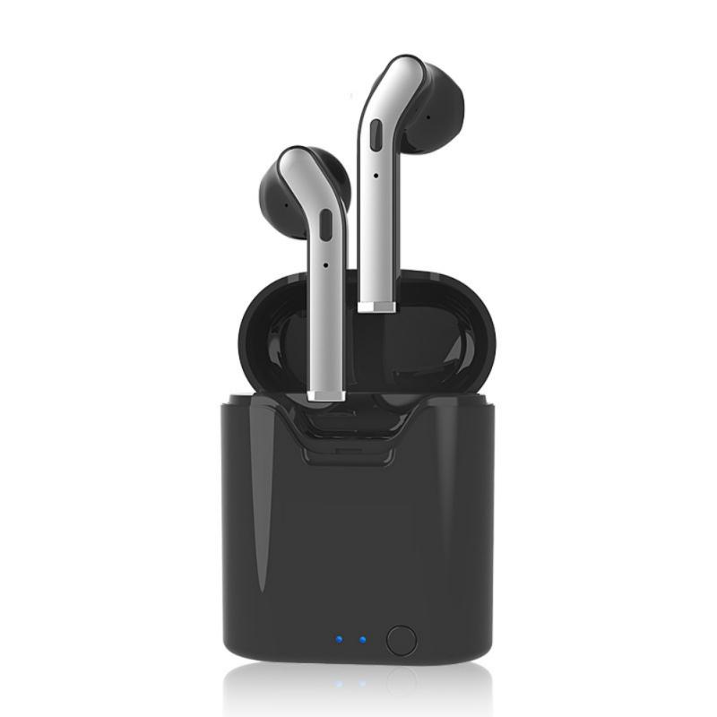 Беспроводные стерео вкладыши Bluetooth 5.0 Наушник Hi-Fi Sport Наушники с зарядкой Чехол для телефонов