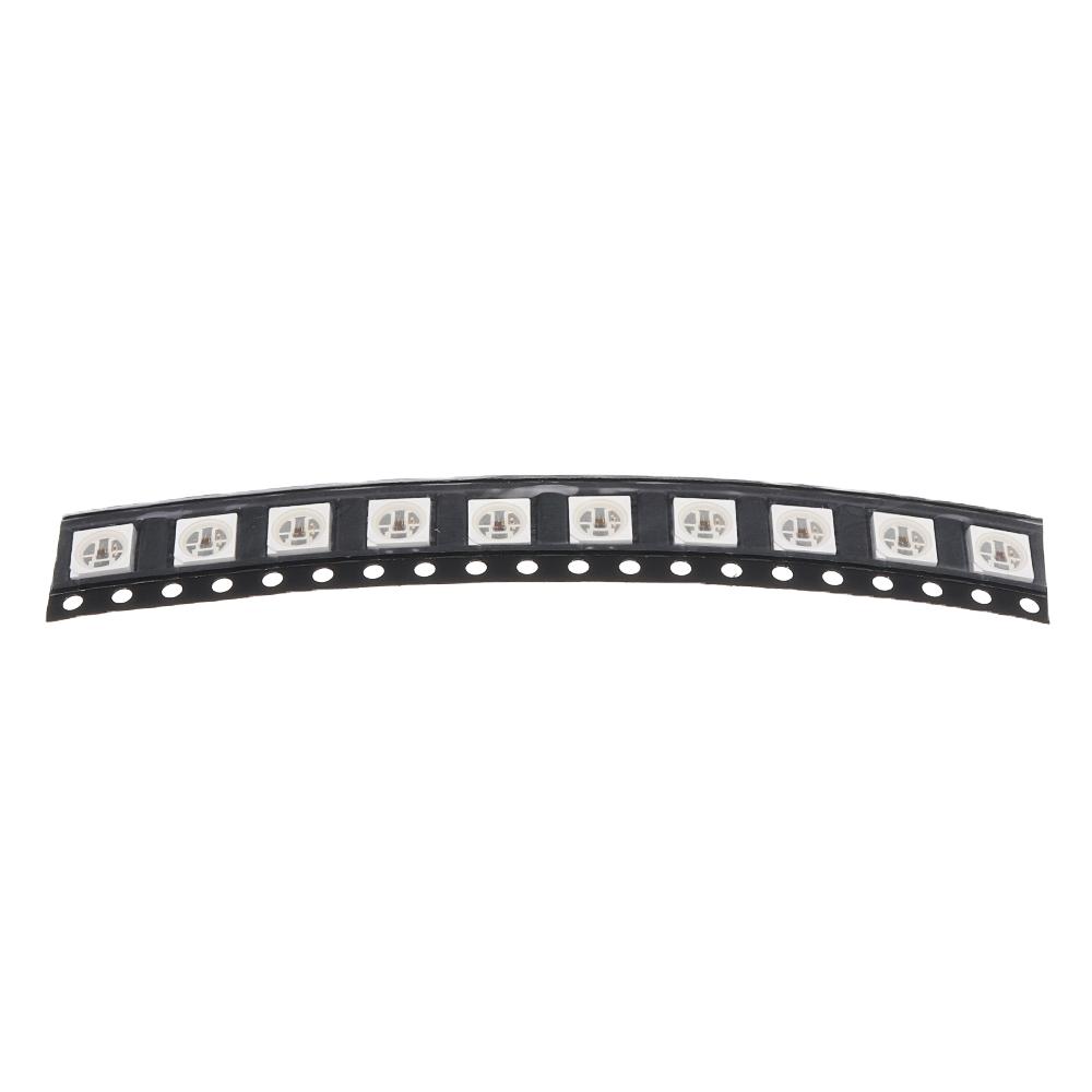 ШТ. NS107S IC 5050 SMD RGB Встроенный LED Чип DIY Световые Бусы для Полосы Лампа Экран DC5V