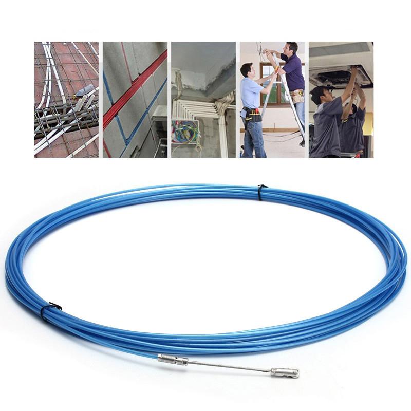М электрический Спираль Кабельный толкатель Кабель Змея Кабель Rodder Fish Tape Провод Руководство