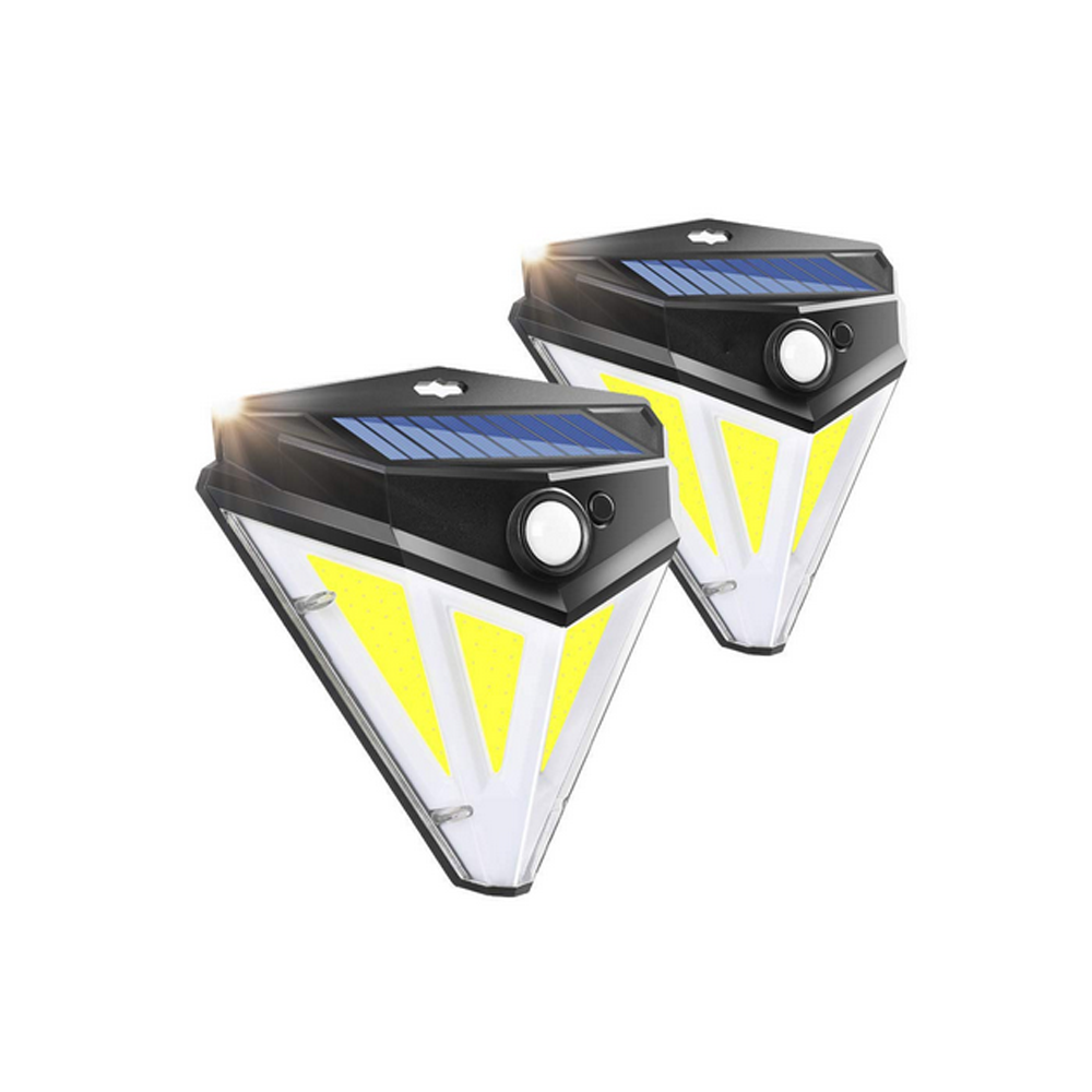 Солнечная Power Light PIR Motion Датчик Настенный путь Сад Лампа Водонепроницаемы