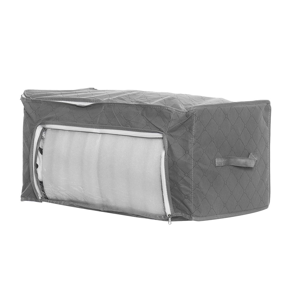 Складное Хранение Сумки Одежда Одеяло Хранение Одеяло Сумка Свитер Органайзер Коробка Мешочек