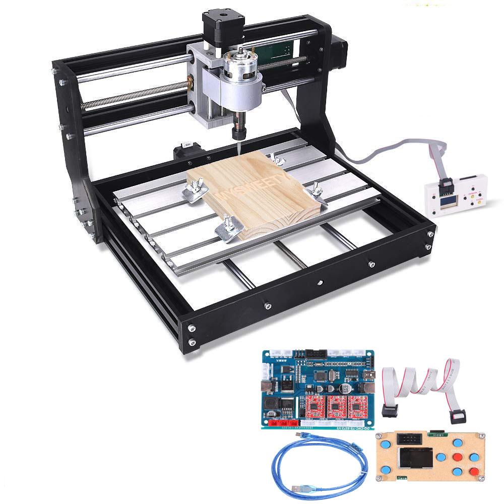 Автономный контроллер 2418 PRO 3-осевой фрезерный станок с ЧПУ GRBL Control DIY Шпиндель с регулируемой скоростью Мотор Дерево Лазер Гравировальный с