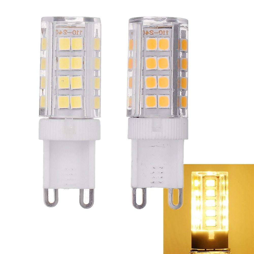 Чистый белый Теплый белый Без строба 52 LED Керамический Кукурузная лампочка для применения На открытом воздухе