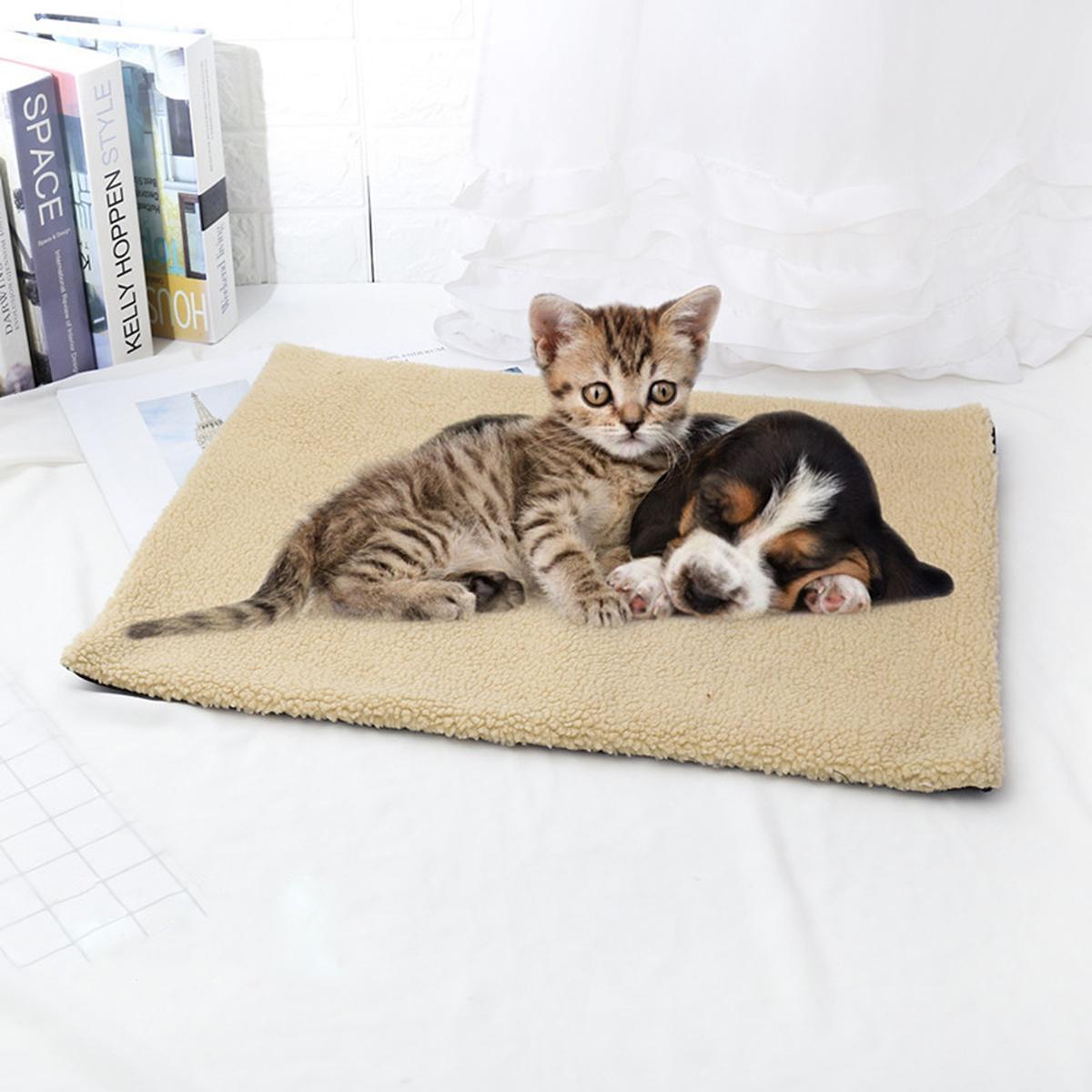 Одеяло теплое флисовое Pet Мат Одеяло с подогревом Собака Кот Подушка