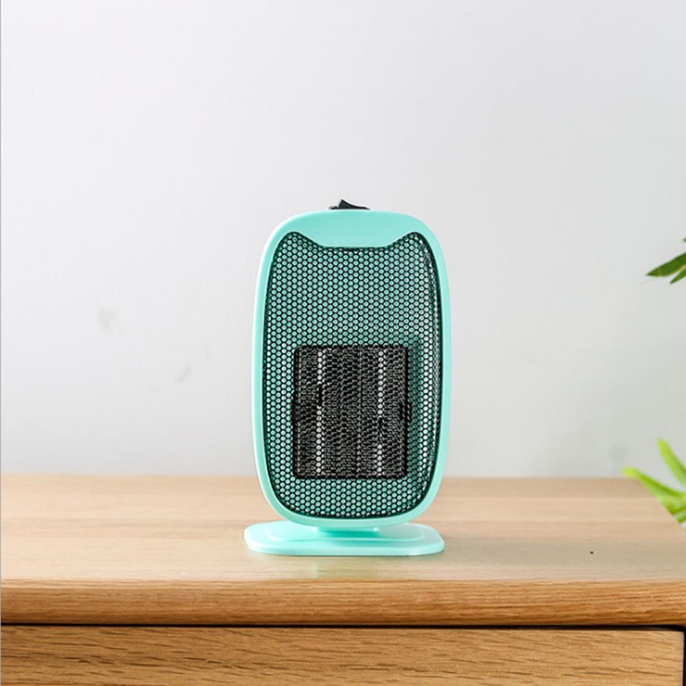 Вт Мини-Электрический Керамический Нагреватель Портативный Бесшумный Домашний Офис, Отопление, Вентилятор, Теплая Зима