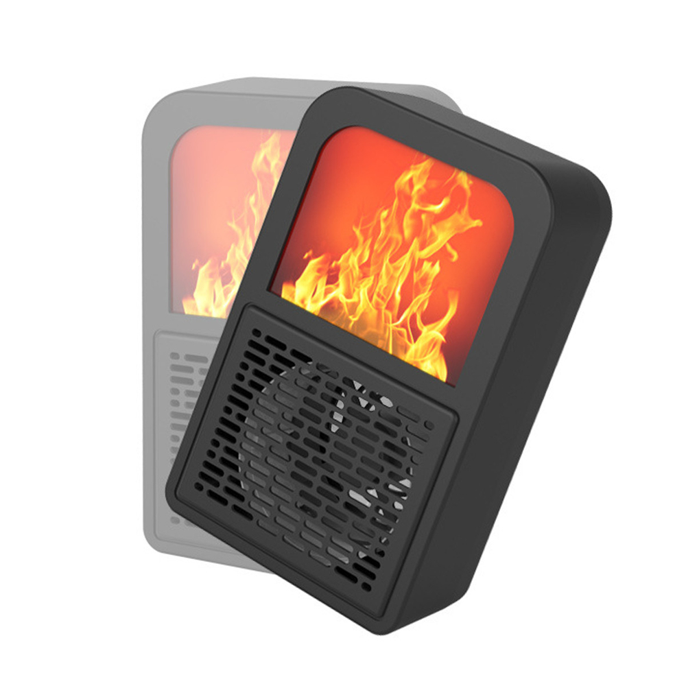 Вт Интеллектуальный Мини-Пространство Нагреватель Вентилятор 2 Передач Регулируемый Электрический Зимний Воздухоочиститель Венти
