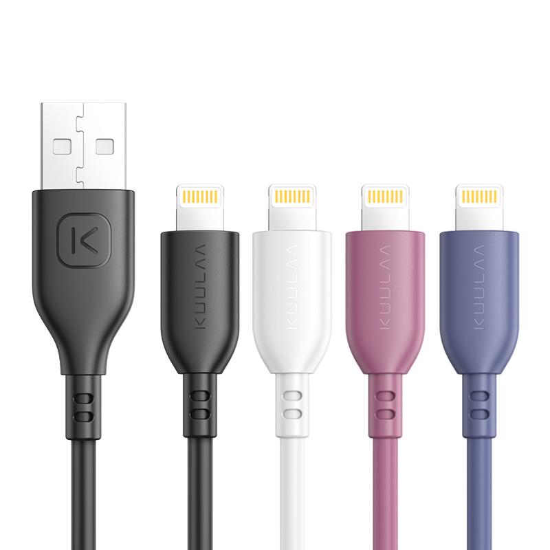 Сертификация MFi Lightning TPE Прочный кабель для передачи данных Быстрая зарядка Шнур USB-зарядки для iPhone 11 Pro XS Макс X XR для iPad для iPod для iPhone 8