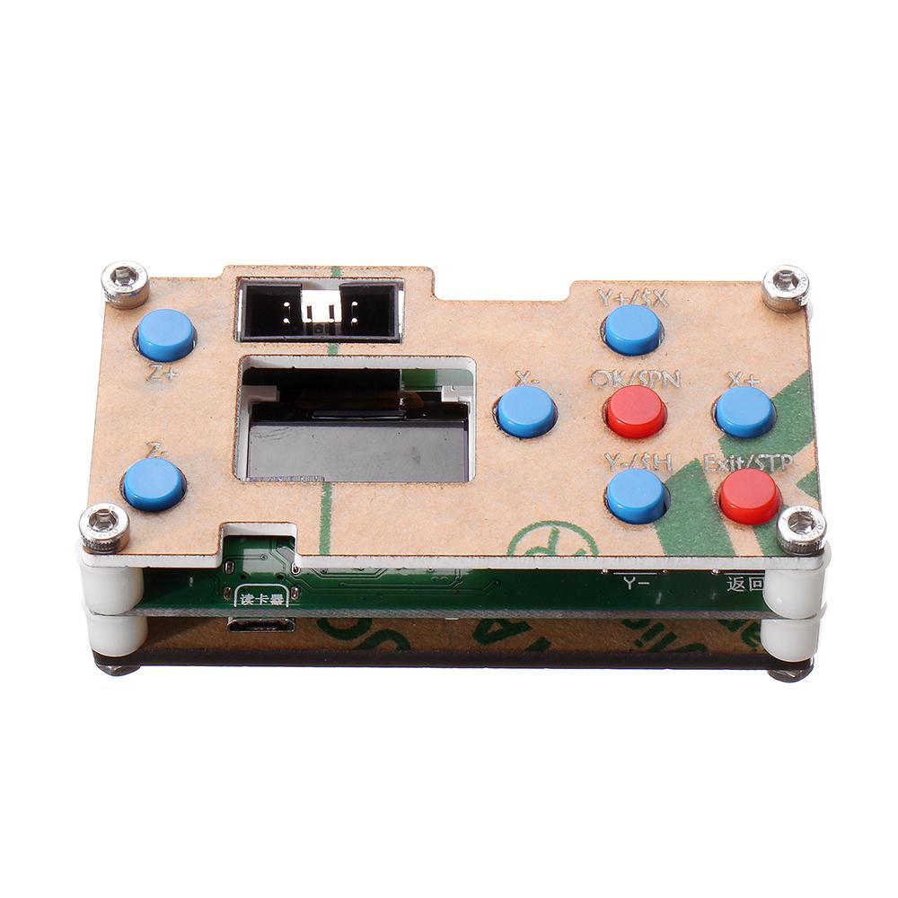 Осевой GRBL USB-драйвер Автономный контроллер Модуль управления LCD Экран SD-карта для ЧПУ 1610 2418 3018 Wood Router Лазер Гравировальный станок
