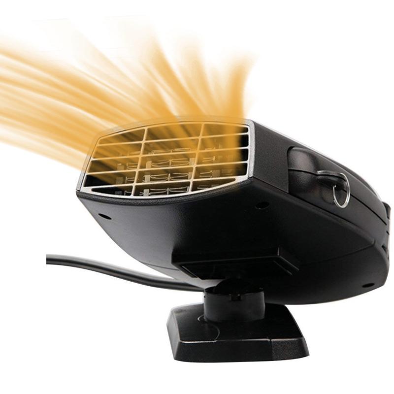В 150 Вт Портативный Авто Нагреватель Обогреватель вентилятора Обогреватель воздуха Демистер Тепловентилятор