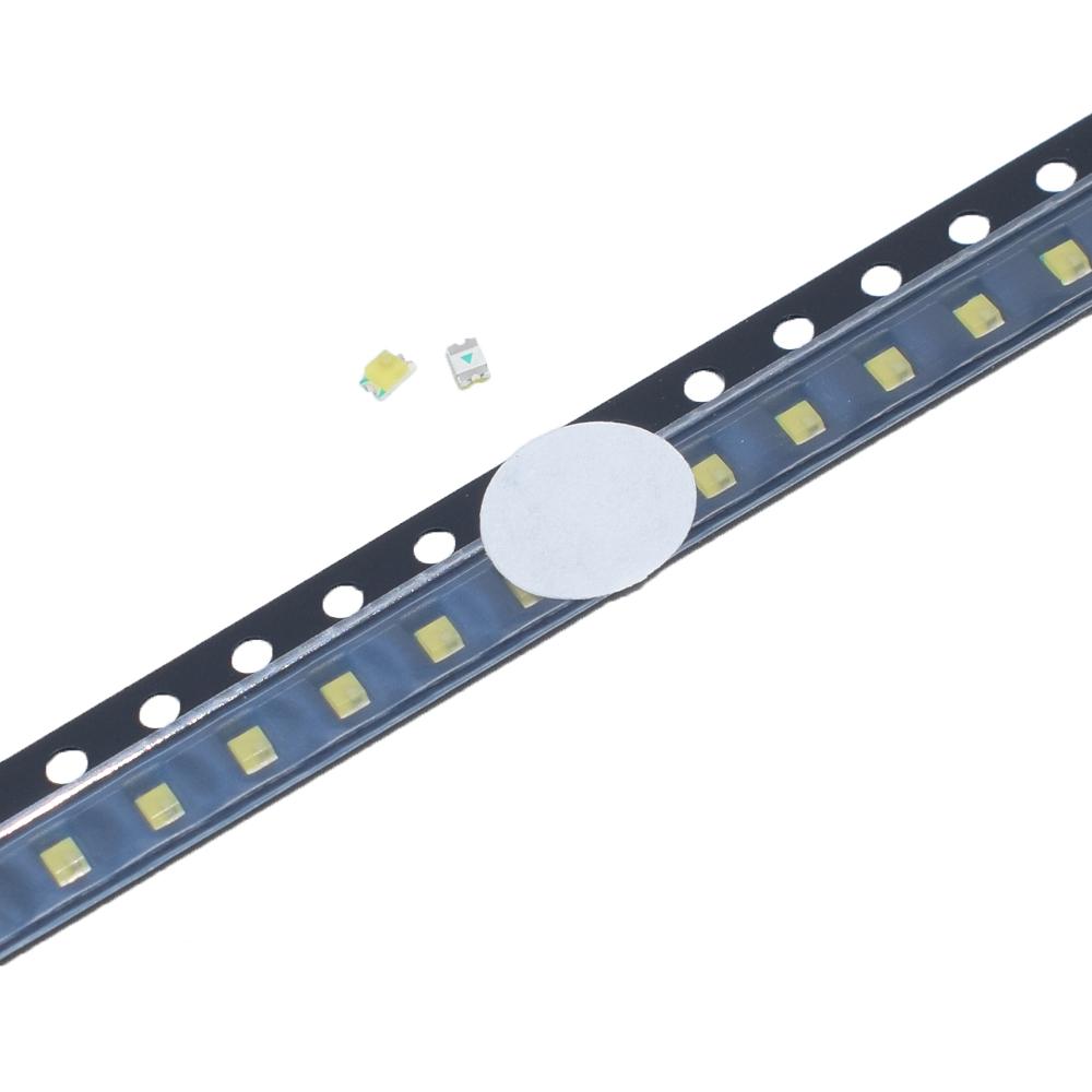 Шт SMD 0805 Чистый белый мигающий мигающий LED светлые шарики чипа DIY Лампа 3-3.2V