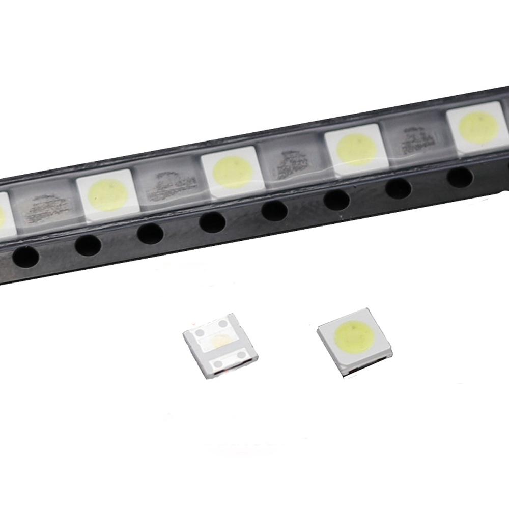 ШТ. Высокая Мощность 1 Вт 3535 100LM 3 В Холодный Белый LED Бусы LCD Подсветка для DIY Телевизор Ремонт Приложения