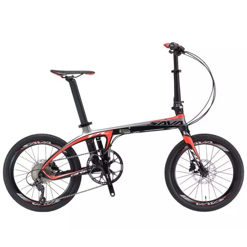Дюймовый складной велосипед от Xiaomi Youpin 10.4 кг Портативный углеродного волокна 9 скоростей велосипеда Максимальная нагрузка 110 кг
