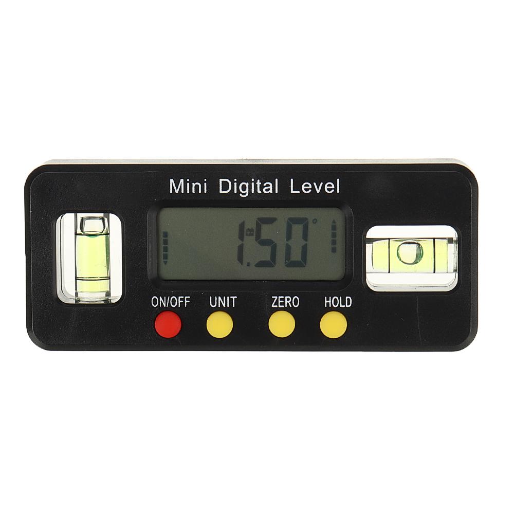 Мм Цифровой уровень Коробка Электронный угловой датчик Транспортир Угловой искатель Угловой датчик с магнитным основанием