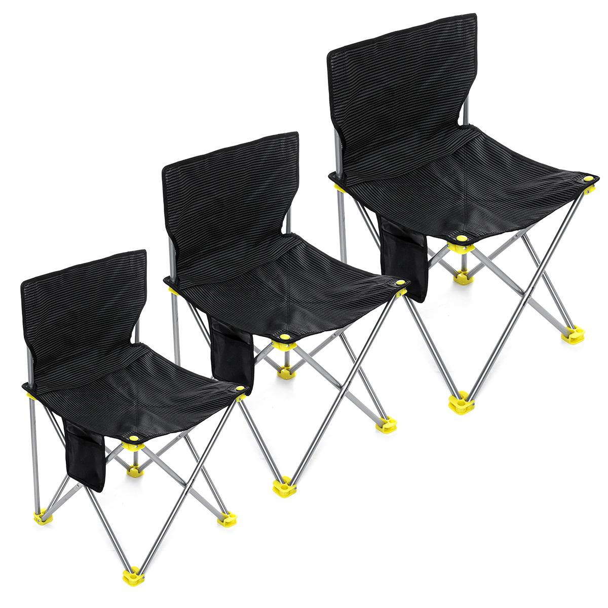 Переносной складной стул На открытом воздухе Traveling Кемпинг Кресло Рыбалка Пляжный Сиденье