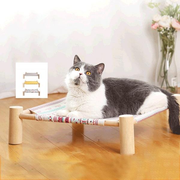Гамак для кошек Четырехугольная подстилка для кошек Съемный кот Гамак Принадлежности для домашних животных Подвесная кровать