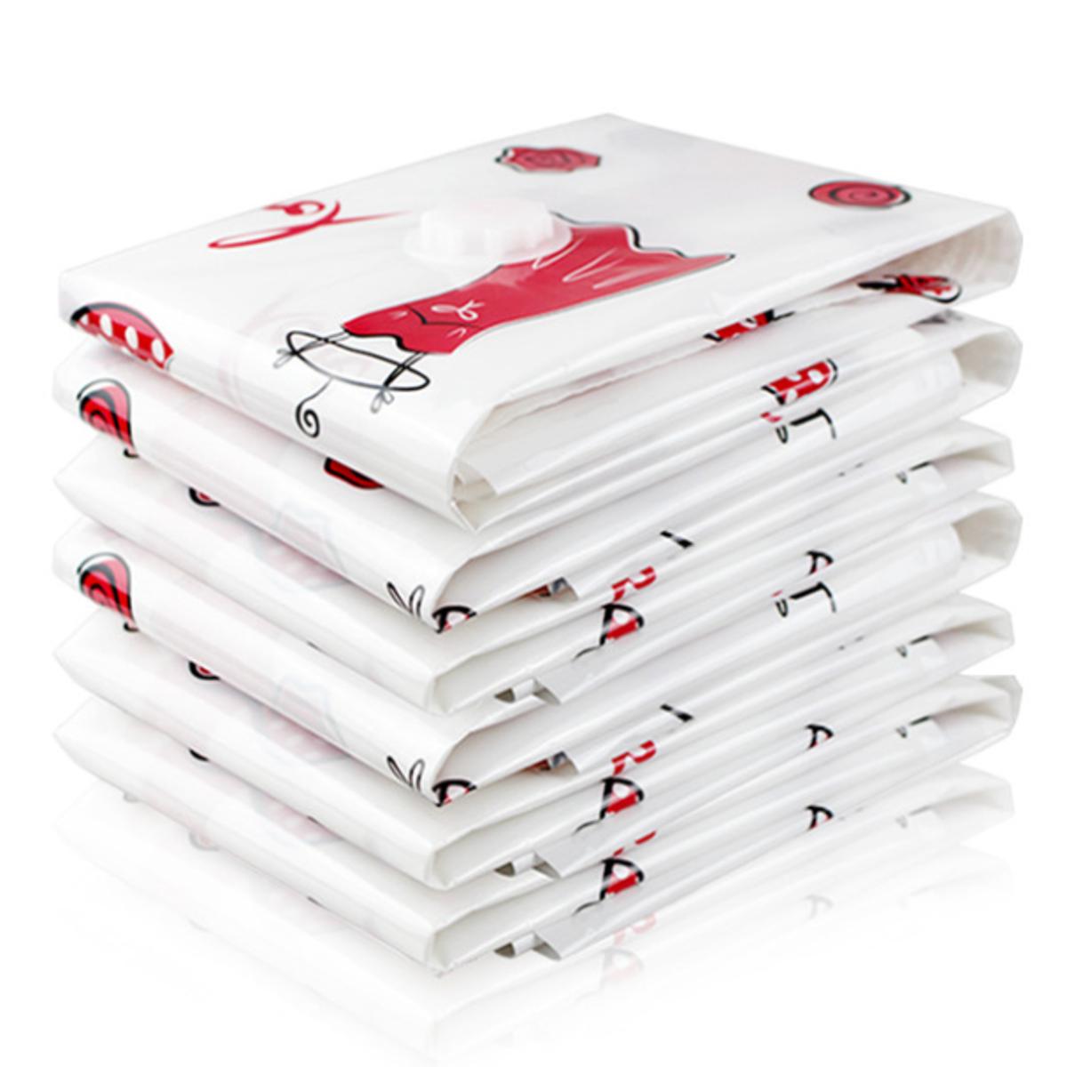 Вакуумное сжатие Сумка Одежда Одеяло Пылезащитный Отделка Пуховик Одежда Насосной Хранения Упаковка Сумки