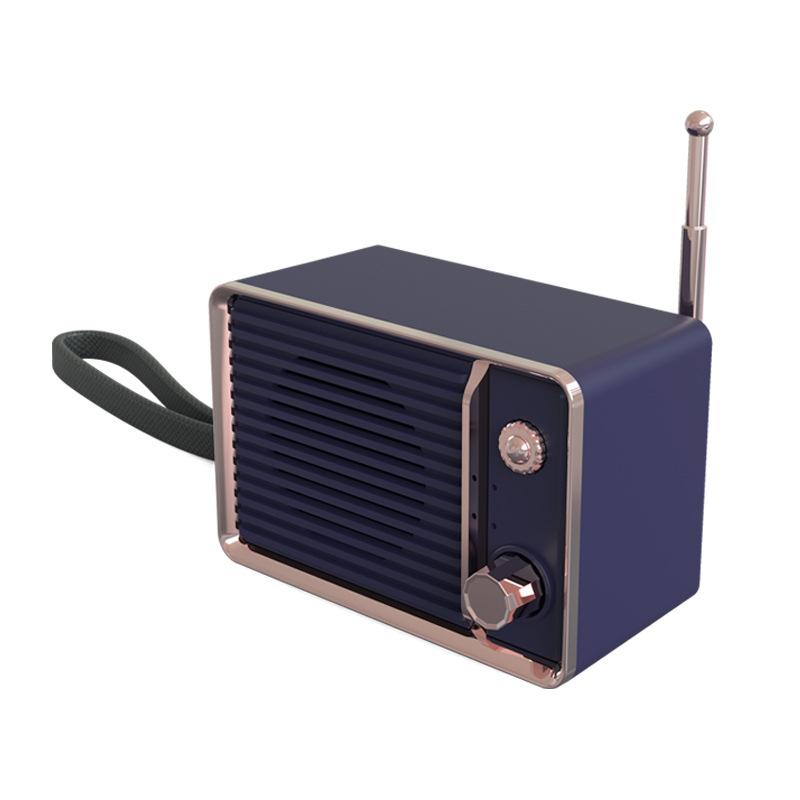Мини Ретро Портативный Bluetooth-динамик Беспроводной Динамик Мобильного Телефона Сабвуфер