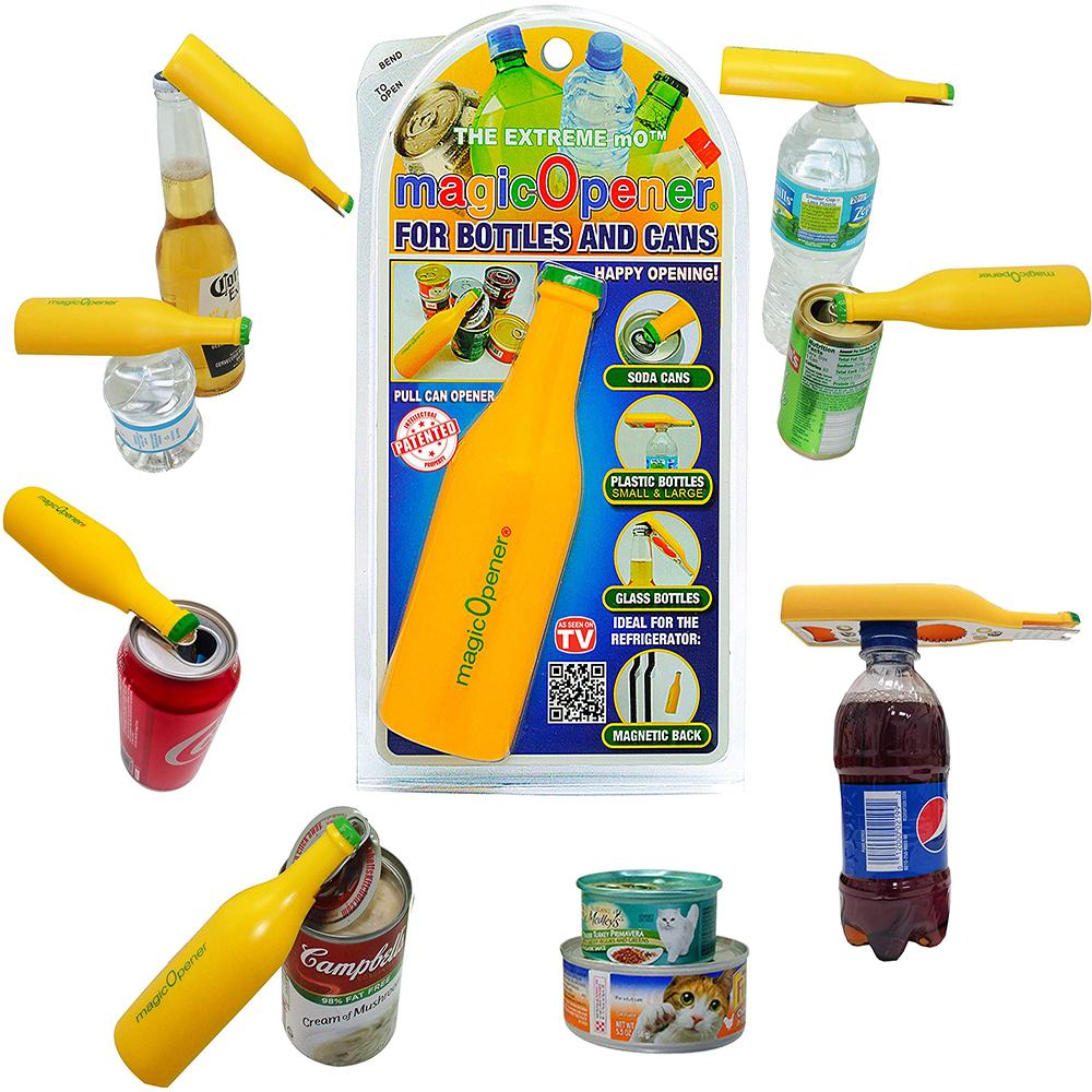 Открывалка для бутылок ABC Can Cap Launcher Shooter Магнитный Открывалка Для Напитков Суп Вытяжка для Дома Питьевой