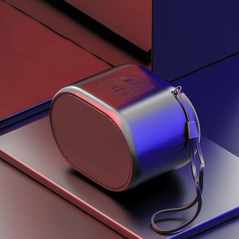 Беспроводной Мини Bluetooth Динамик Водонепроницаемы для Компьютера TF Карта Металлический Сабвуфер