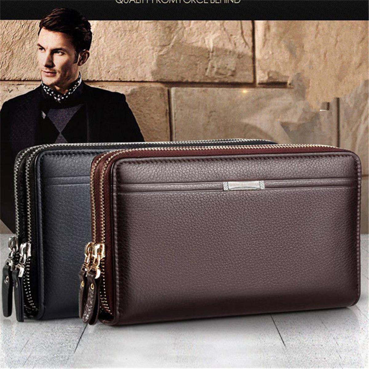 Мужские клатчи Сумка Handbag Wallet Кошелек Карточка мобильного телефона