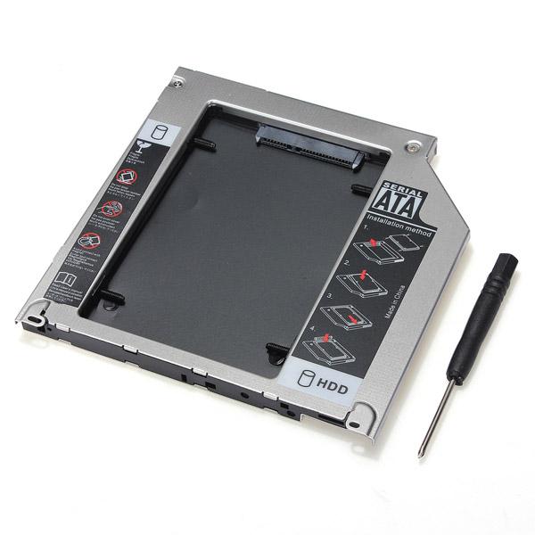 Дюймовый HDD жесткий диск кэдди отсек для Macbook Pro SuperDrive SATA 2-й
