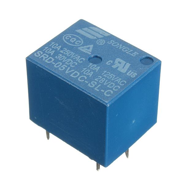 Мини-5V постоянного тока реле нич-5В-сл-с 5 Контактный PCB Тип