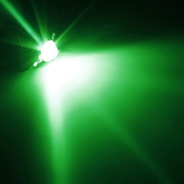 Зеленый 1w большая мощность 140 ° LED диодная лампочка лампы света бусинки чипа сделай сам