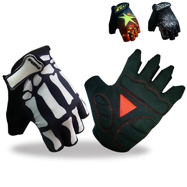 Летние велосипедные перчатки велосипед половины пальцев перчатки велосипедные варежки дышащие