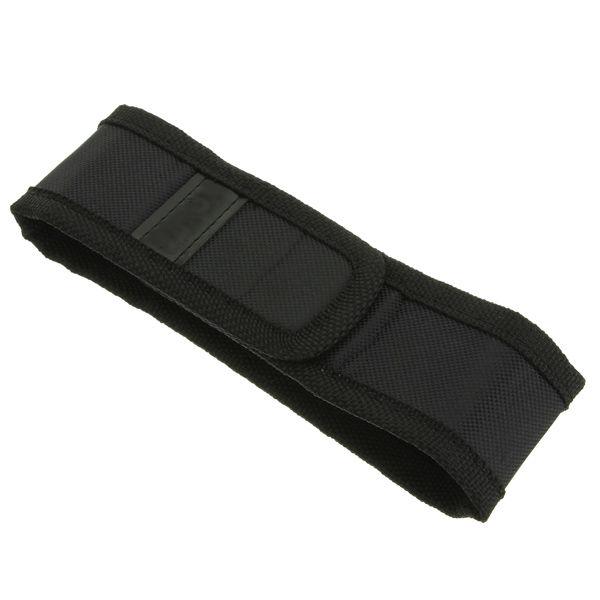 Черный чехол для чехла для LED Фонарик 150 мм x 30 мм