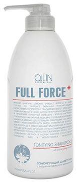 OLLIN PROFESSIONAL Шампунь Full Force Tonifying Shampoo Тонизирующий с Экстрактом Пурпурного Женьшеня, 750 мл