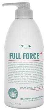 OLLIN PROFESSIONAL Шампунь Full Force Anti Dandruff Moisturizing Shampoo Увлажняющий Против Перхоти с Экстрактом Алоэ, 750 мл