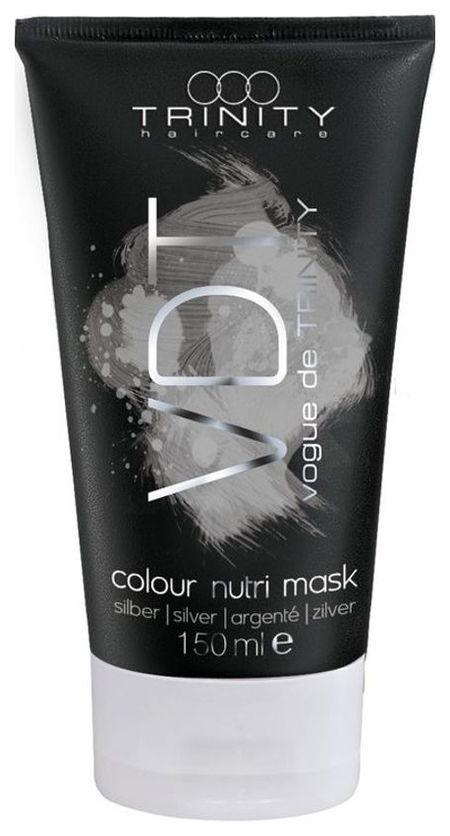 Trinity Hair Care Маска Colour Nutri Mask Silver Питающая Оттеночная для Серебряных Оттенков, 150 мл