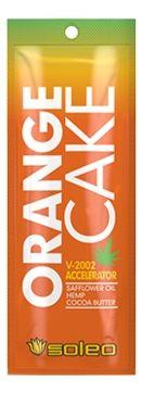 Soleo Усилитель Загара Orange Cake Интенсивный с Экстрактом Конопли, 15 мл