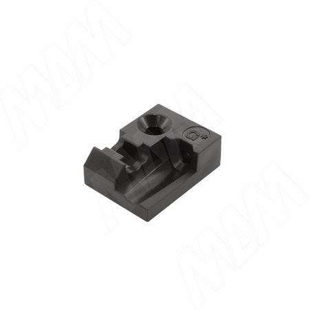 NOVA PRO TIPMATIC SOFT-CLOSE опорный элемент для синхронизирующей штанги (для корпусов шире 800 мм) (F102108021)