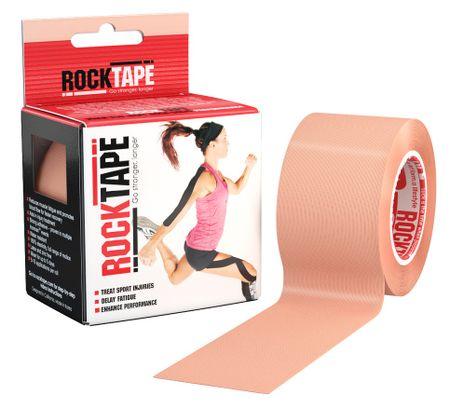 RockTape Кинезио-тейп RockTape 5 см х 5 м, бежевый