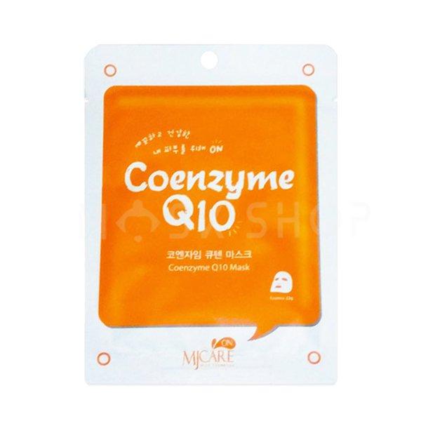 Тканевая маска с коэнзимом Mijin Coenzyme Q10 Mask Pack
