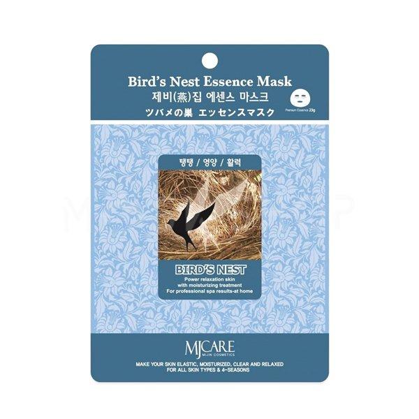 Тканевая маска с ласточкиным гнездом Mijin Bird`s Nest Essence Mask